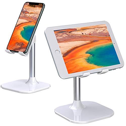 """Babacom Porta Cellulare da Tavolo, Regolabile Supporto Tablet, Universale Supporto Cellulare per Lezioni Online, Compatibile con Tablet, iPad, Kindle, iPhone, e Altro Ancora Dispositivi da 4""""-10"""""""