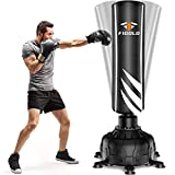 Freestanding Punching Bag 71' - 230LBS Heavy Boxing Bag with 13 Suction Cups Base with Double Suction for Adults Teenagers - Professional Men Stand Kickboxing Bag for Home Office Gym