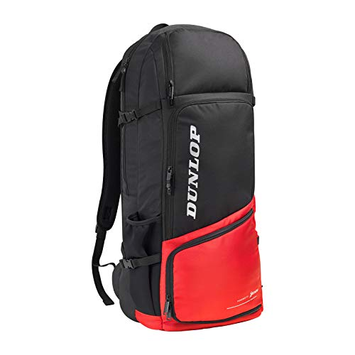 Dunlop Mochila de tenis CX Performance Long Backpack Black Red