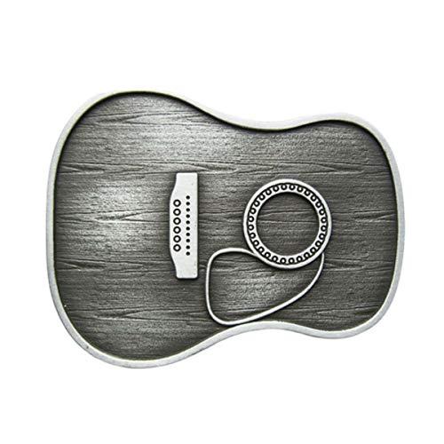Hebilla como cuerpo de la Guitarra, Guitarra, Guitarra, Hebilla de cinturón
