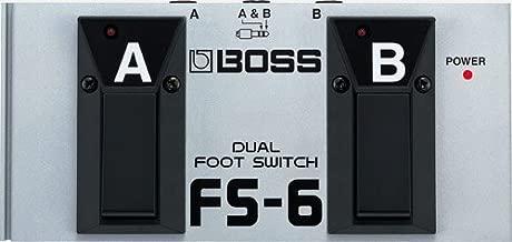 BOSS FS6 / DUAL FOOTSWITCH