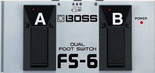 BOSS Conmutador de pedal doble FS-6