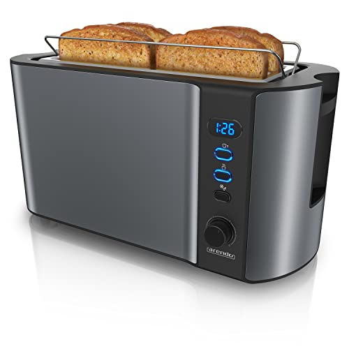 Arendo -   - Edelstahl Toaster