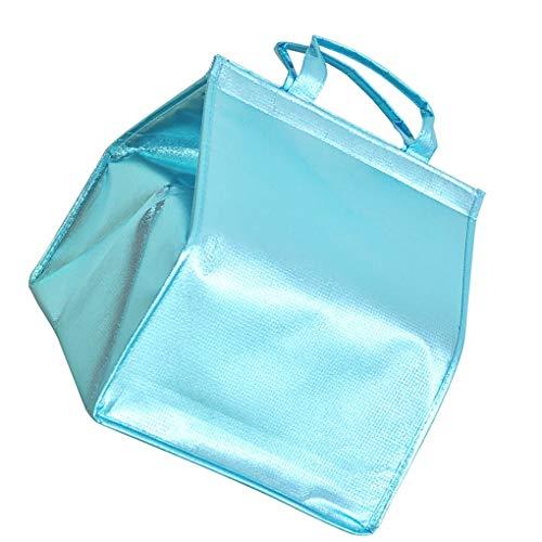 Lekvrije koeltas – koelbox – draagbaar afhaalzakje van 6 inch – 8 inch – 10 inch – 12 inch – 14 inch – blauw