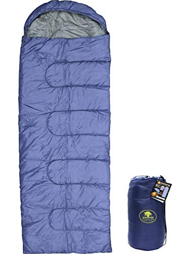 マクロス 耐冷-10℃ 冬用 洗える 寝袋 スリーピングバッグ 軽量 1300g 一人用 205×75cm (収納 巾着付き) MCO-53