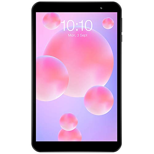 Dsqcai Tableta de 8 Pulgadas PC Android 10 OS 2GB RAM 32GB ROM 1280 * 800 HD IPS Quad Core Dual Cámara GPS WiFi Bluetooth Tablet PC