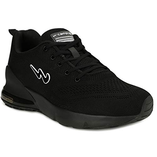 Campus Men's North Full Blk Running Shoes-10 UK (44 EU) (5G-677)