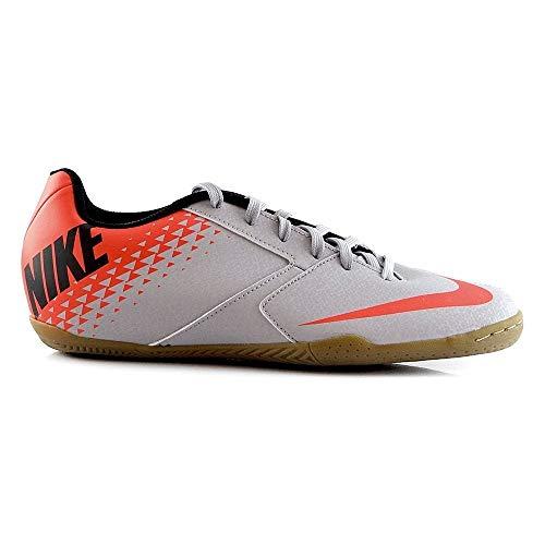 Nike Bomba IC, Scarpe da Fitness Uomo, Multicolore (Wolf Grey/Black/Bright Crimson 006), 45.5 EU