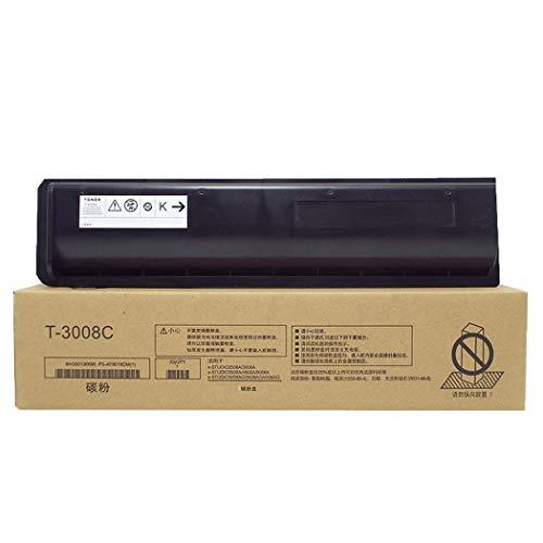 WENMWAdecuada para Toshiba T-3008C Cartucho de tóner, Compatible Reemplazar Cartucho de tóner de la Impresora Toshiba E-Studio 2508A 3008A 3508A 3008AG 3508AG Láser,10000 Pages