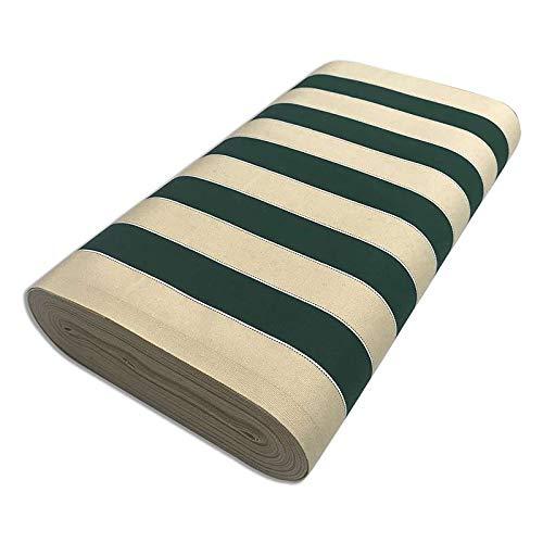 Panini Tessuti, Tela per Esterno da sole H 44cm o H 60cm Venduto al Mezzo Metro, 1 qtà = 50 cm; 2 qtà = 100 cm per sdraio, sedute da giardino o tendoni.