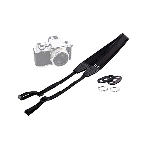 JJC Soft Shoulder Neck Strap for Sony ZV-E10 A6000 A6100 A6300 A6400 A6500 A6600 A5100 Fuji Fujifilm X-T30 X-T20 X-T10 X-T4 X-T3 X-T2 X-T1 X-S10 X-E4 Canon EOS M50 M6 Mark II Nikon Z50 Camera & More