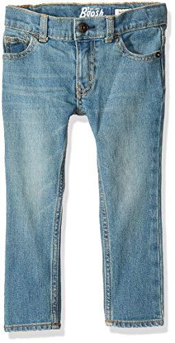 Osh Kosh Boys' Toddler Skinny Jeans, Tumbled Light Wash, 5T