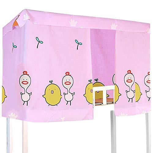 Sun Kea - 3 cortinas para literas o dormitorios para estudiantes, cama individual, tela opaca a prueba de polvo y protección de red, Patrón 4, 78.8*45.3in