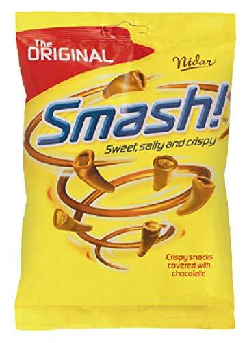 12 x Nidar Smash Original - Norwegische Milchschokolade Snack 100g
