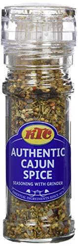 KTC Condimento de Mezcla de Hierbas Cajun con Molinillo - Paquete de 6 x 45 gr - Total: 270 gr