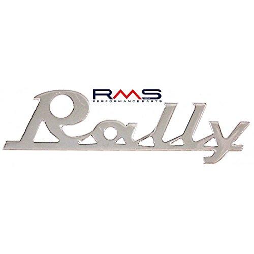 Emblem/Schriftzug ' Rally ' für Vespa 180-200 Rally - 2 Pins 90x30mm Lochabstand 65mm