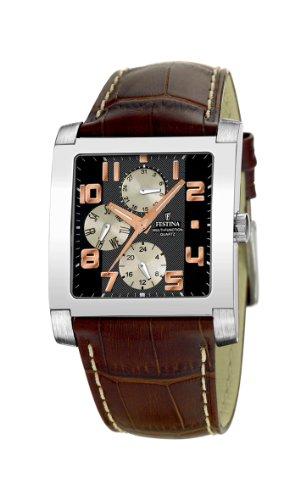 FESTINA Sport 16235/5 - Reloj de Caballero de Cuarzo, Correa de Piel Color marrón