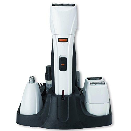 Tm Electron TMNT120 - Kit de arreglo personal seco/húmedo con maquinilla cortapelos profesional