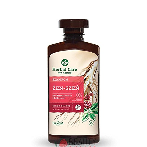 Farmona Herbal Care Ginseng-Shampoo für dünnes und empfindliches Haar