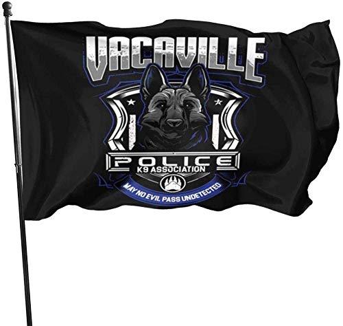 AOOEDM Durable and Beautiful Garden Flag Parade Flag,PoliceFlag 3x5 Ft Yard Flag Decorative Flag