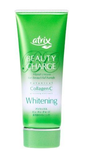 Kao atrix Hand Care Cream Beauty Charge Whitening 60giGreen Tea Set)