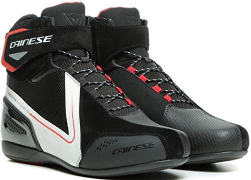 Dainese Energyca D-WP Scarpe da moto impermeabili Nero/Bianco 44