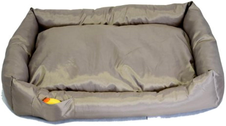 DOG   CAT   PET AMAZING WATERPROOF BED   SOFA SIZE (S  XXXXL) & COLOURS (XXXXL, Mocca)