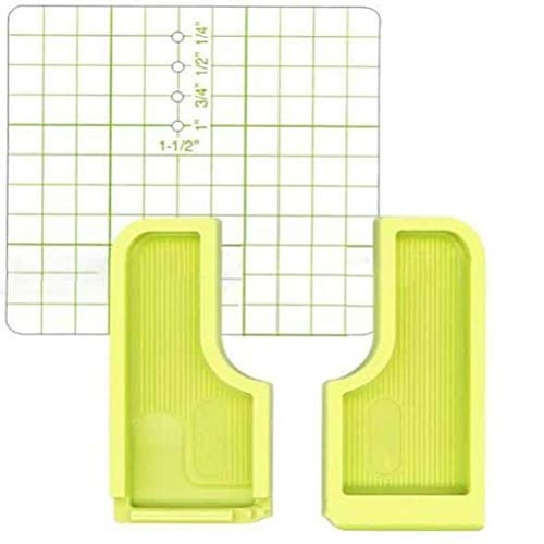 Swakom Guía de Costura para máquina de Coser - Regla de Gran Alcance Puntada Multifuncional guía de Puntada Pieza de Costura guía de Costura Placa de posicionamiento Accesorios
