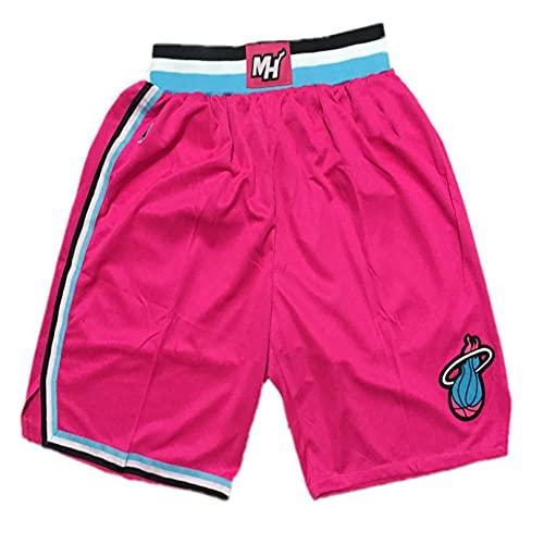 BUFJ Pantalones cortos de baloncesto para hombre y mujer, pantalones cortos de baloncesto transpirables, pantalones cortos deportivos casuales XL E
