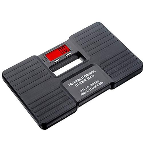 Mdsfe Digitale LCD-Körpergewichtswaage Mini-Personenwaage für Badezimmer-Bodenwaagen 150 kg Gesundheitswaage Nr. 2 - a2, G225654B