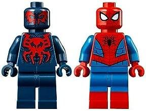 LEGO Superheroes Spiderman and Spiderman 2099 Minifigure Combo