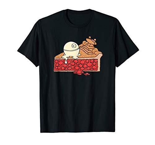 Star Wars Imperial Star Destroyer Pie and Death Star T-Shirt