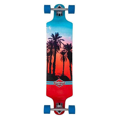 D-Street Skateboard, Mehrfarbig