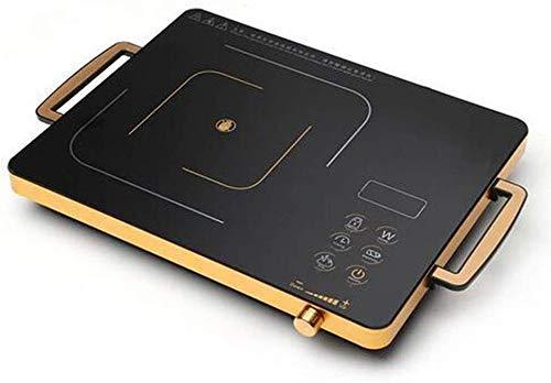 2200W Tragbarer Induction Cooktop w ETL FCC genehmigt, elektrische Einzel Aufsatz- Brenner mit LCD-Screen-Sensor und Digital Timer (Farbe: Schwarz) YCLIN (Color : Black)