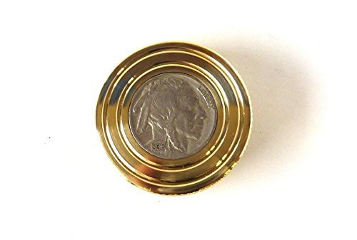 THE FLATTOP - BRASS BUFFALO HANDMADE EDC SPINNING TOP - MADE IN THE USA - Gift for Dad