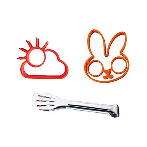 Fried Egg Mold, Silicone Bunny Mold for Easter