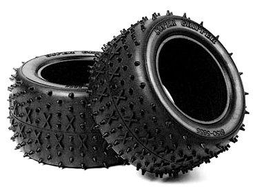 Tamiya 300050450 - Cross-Spike Reifen hinter, 2, Stad Blitzer