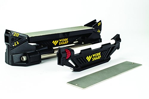 Work Sharp Guided Field Sharpener – WSGSS Knife and Tool Guided Field Sharpening System – World's Top Manual Guided Sharpening Tool System for Tools and Knives