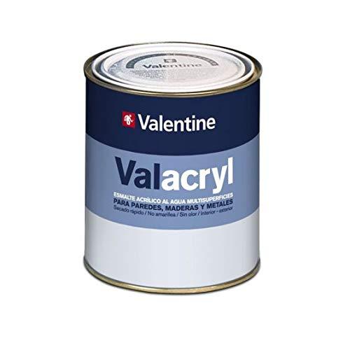 Acryl-Lack, verschiedene Oberflächen, satiniert, Weiß, 750 ml