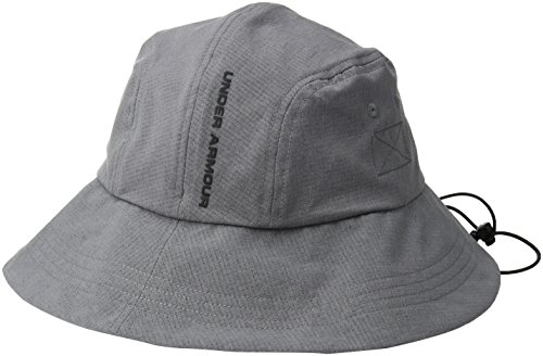 Under Armour Men's ArmourVent Warrior Bucket 2.0 Hat, Graphite (040)/Black, One Size