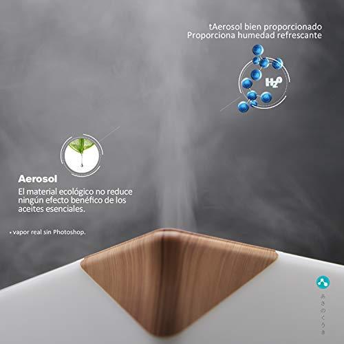 ASAKUKI 700ml Humidificador Ultrasónico Aromaterapia,...