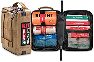 Green Survival Snake Bite First Aid Kit Outdoor Camping