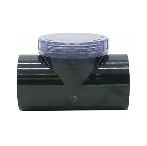 PISCINEO Clapet Anti-Retour Transparent PVC Pression diam. 50