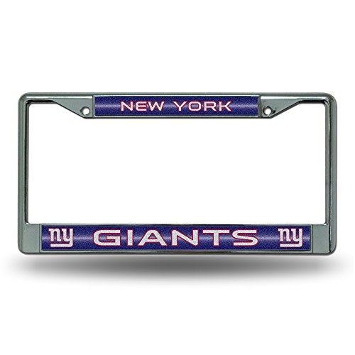 Rico NFL New York Giants Bling Chrome Plate Frame