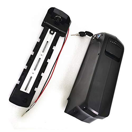 Fetcoi 48V 10Ah E-Bike Akku Li-ion Fahrradakku Pedelec Elektrofahrrad Batterie Ladegerät