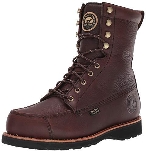 Irish Setter mens Wingshooter-808-m hunting shoes, Dark Brown, 11.5 US