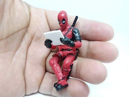 Deadpool Mini-Figur, sitzend