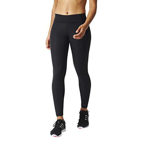 adidas Damen Tights WOLONG Leggings, Schwarz, 2XS