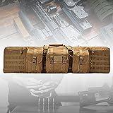 HNWTKJ Funda para Armas Largas, Bolsa para Rifle Funda para Transporte de Armas, 600D Impermeable, Mochila para Carabina, Almacenar o Transportar Rifles Individuales