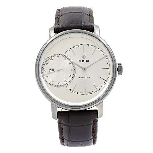 Rado Herren-Armbanduhr Diamaster Datum dezentrale Sekunde Analog Automatik R14129106